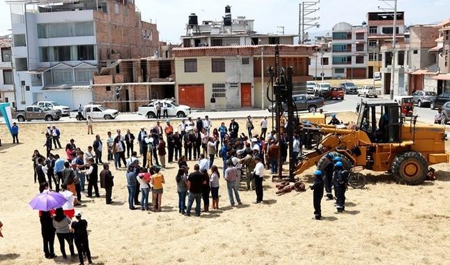 Mediante pozos tubulares mejorarán y ampliarán servicio de agua en Cajamarca